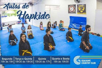 Participe das aulas de Hapkido do Guaxupé Country Club
