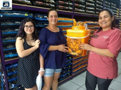 Mais clientes ganham presentes do Mangalarga Pet Shop
